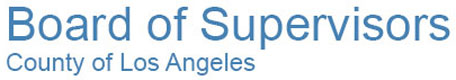 Client: Los Angeles Board of Supervisors, Executive Office